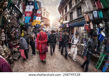 nepal application to be a monk
