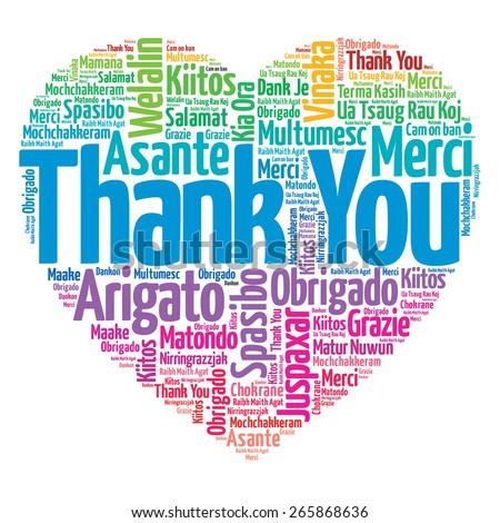 thank you many languages love heart stock illustration 265868636 rh shutterstock com thank you in many languages free clipart thank you in many languages free clipart