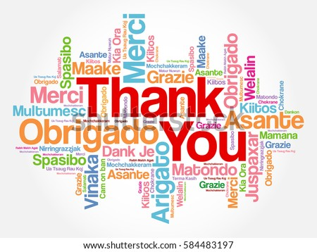 Thank you in different languages stock images royalty free images thank you word cloud in different languages concept background stopboris Image collections