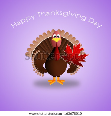 Thanksgiving Day background - stock photo