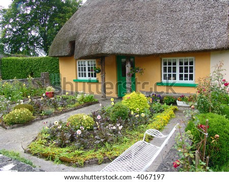 Thatched Roof House, Adare, Ireland