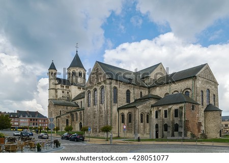 The Abbey of Nivelles, is a former Imperial Abbey of the Holy Roman Empire founded about 650. It is located in the town of Nivelles in Province of Walloon Brabant, Belgium