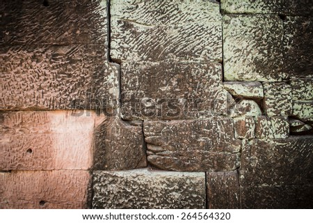The abstract background from sand stone wall texture