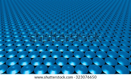 The Abstract background made of 3d Circle - stock photo