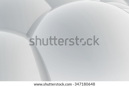 The abstract cell background made of 3d Spheres for skin care concept - stock photo