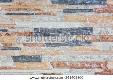 The abstract of Stone wall texture and background - stock photo