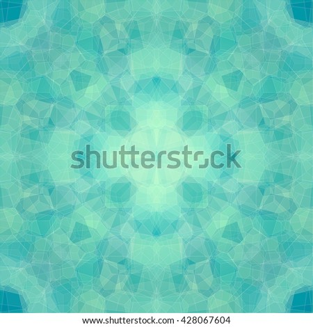The abstract symmetry art background.