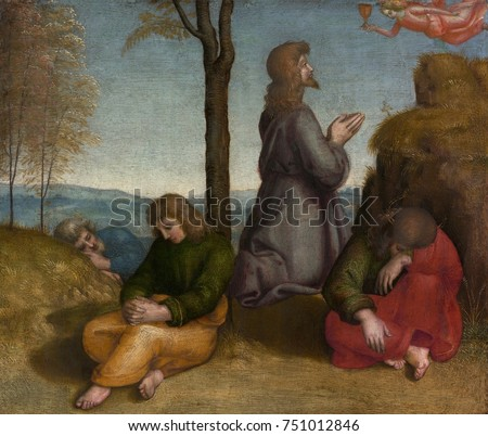 THE AGONY IN GARDEN By Raphael 1505 20 Italian Renaissance Painting