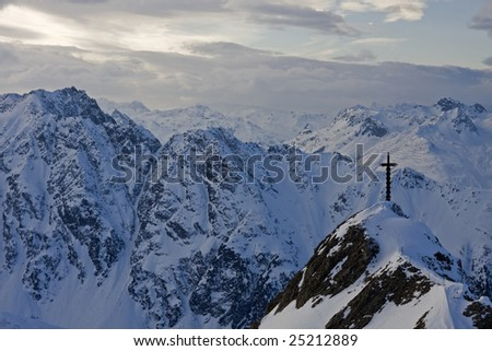 The Alpes, Tirol, rest in mountains