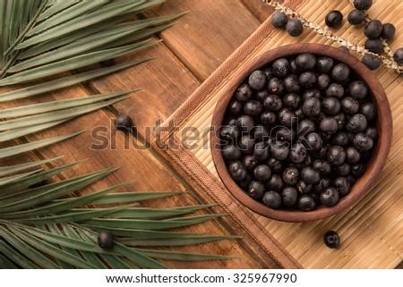 The amazon acai fruit. - stock photo