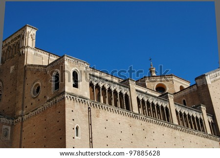 the ancient city of Chieti in Abruzzo