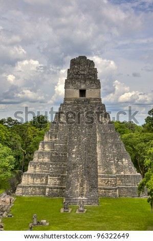The Ancient Mayan Ruins of Tikal in Guatemala