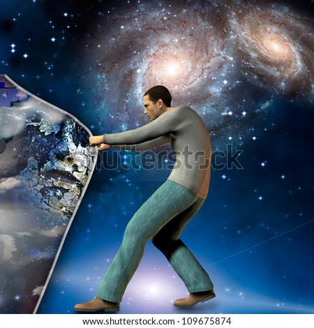 The ancients beyond - stock photo