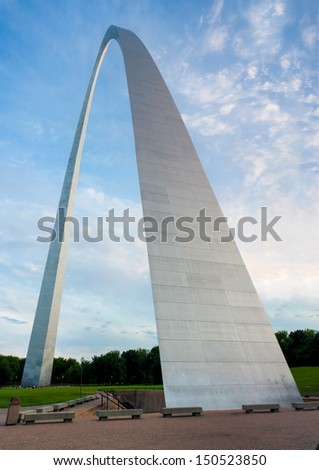 The arch in St Louis