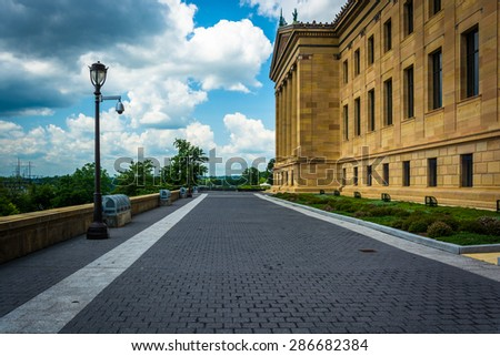 The Art Museum, in Philadelphia, Pennsylvania. - stock photo