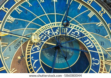 "The Astronomical Clock ""Orloj"" in Prague"