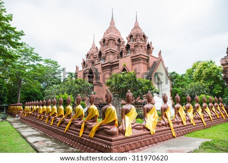 The Attractive Buddha images in thailand - stock photo