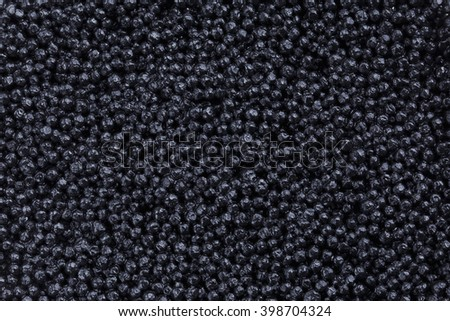 the background from a black fish eggs
