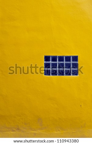 The Background from high detailed yellow stone wall