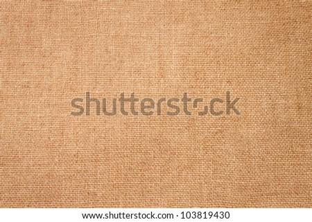 The background made by brown burlap - stock photo