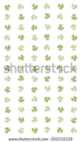 The background of a clover - stock photo
