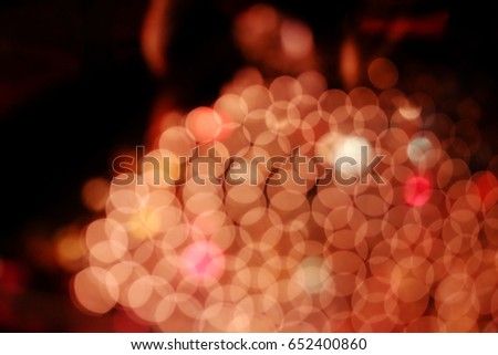 the background pattern blurred lights in the dark