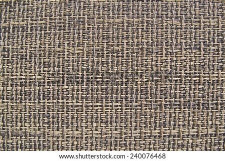 The background texture. Wicker vinyl gray. - stock photo