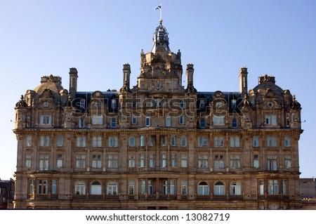 The Balmoral Hotel, Edinburgh - stock photo