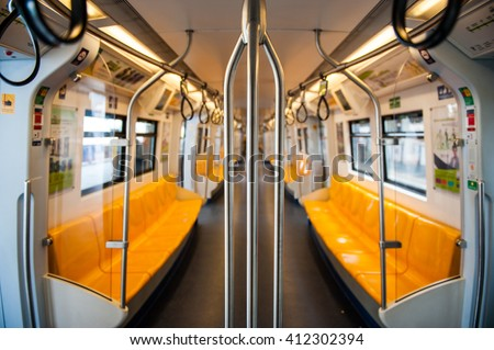 The Bangkok Mass Transit System , known as BTS or Skytrain, is an elevated rapid transit system in Bangkok. selective focus - stock photo
