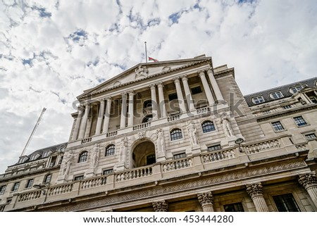 The Bank of England, City of London, UK