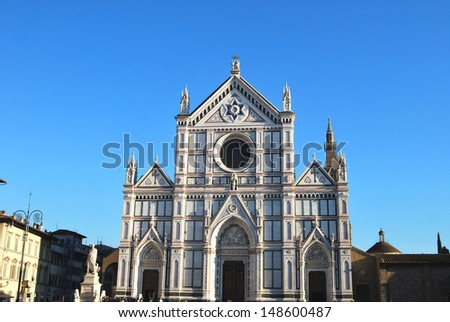 The Basilica of Santa Croce - Florence - Italy - 667