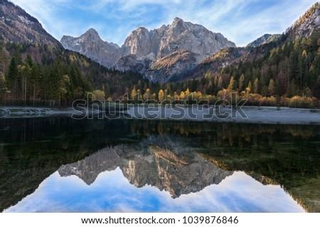 stock-photo-the-beautiful-jasna-lake-in-