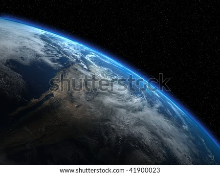 The beautiful planet Earth, some more in my portfolio - stock photo