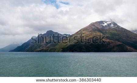 The beauty of Chile | Tierra del Fuego: Beagle channel, Tierra del Fuego, Patagonia, Chile / Argentina - stock photo