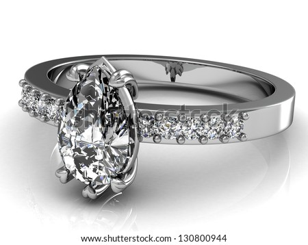 The beauty wedding ring