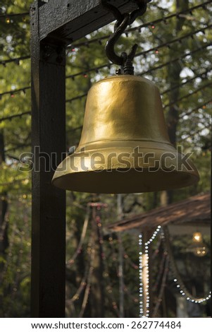 The Bell - stock photo