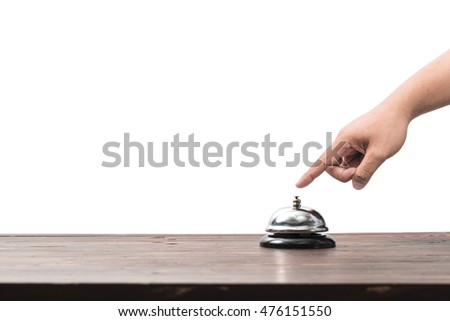 The bell on the counter