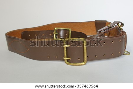 The belt of the soviet army officer.