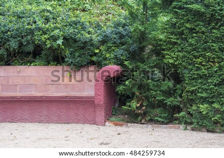 The  bench in the park.
