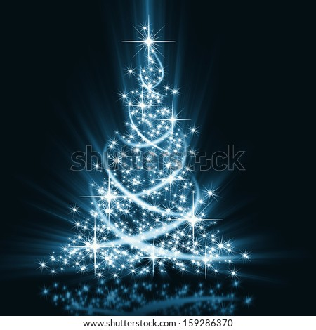 The best Christmas tree - stock photo