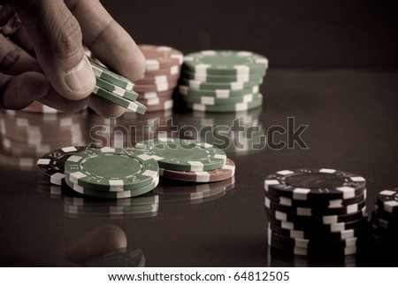The Bet - stock photo