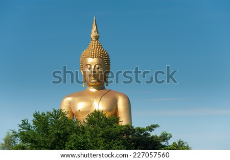 The Big Buddha in Thailand
