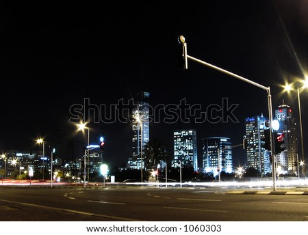 the big city - stock photo