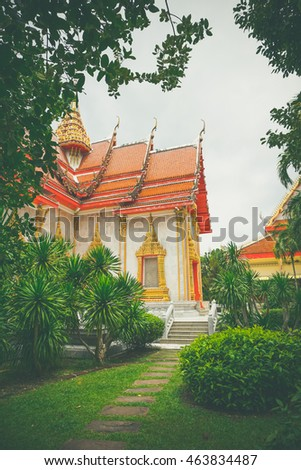 The biggest temple in Phuket, Thailand is Wat Chalong - travel and tourism.