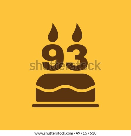 Rd Birthday Cake Icon