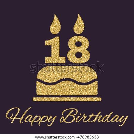 Birthday Stock Images RoyaltyFree Images  Vectors Shutterstock - Happy birthday 18 cake