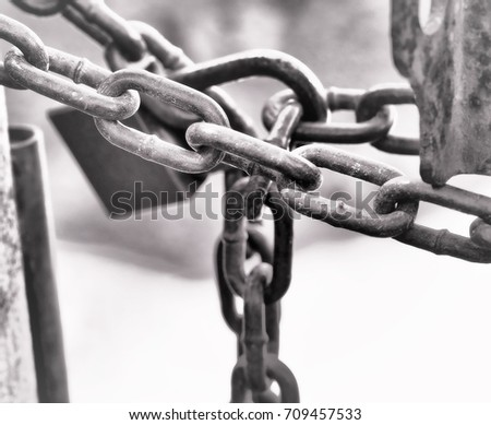 door lock and key black and white.  And The Black And White The ChainsKey Lock The Door Is A Background To Door Lock And Key Black White
