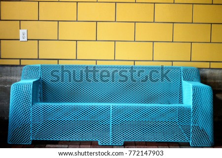 The Blue Couch
