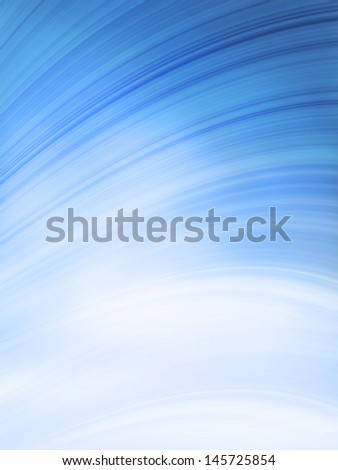The blue sky with clouds, abstract background - stock photo