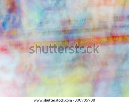 The blur Abstract picture. Japanese oni. - stock photo